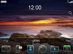 BlackBerry 9780 Bold - Instellingen - ontvangen via SMS - Stap 1