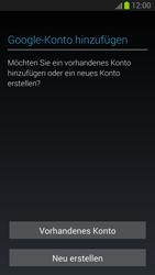 Samsung Galaxy S III - OS 4-1 JB - Apps - Konto anlegen und einrichten - 0 / 0