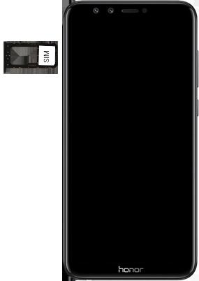 Huawei Honor 9 Lite - SIM-Karte - Einlegen - 4 / 8