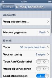 Apple iPhone 4 (iOS 6) - e-mail - handmatig instellen - stap 4