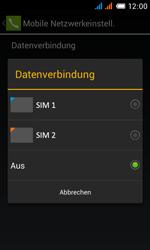 Alcatel One Touch Pop C3 - Internet und Datenroaming - prüfen, ob Datenkonnektivität aktiviert ist - Schritt 7
