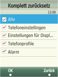 Samsung F480-TouchWiz - Fehlerbehebung - Handy zurücksetzen - Schritt 7