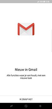 Samsung Galaxy S8 Plus - E-mail - Handmatig instellen (gmail) - Stap 5