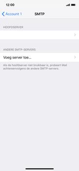 Apple iPhone X - iOS 12 - E-mail - Account instellen (POP3 met SMTP-verificatie) - Stap 20