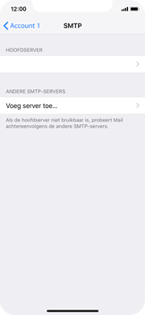 Apple iPhone XS - E-mail - handmatig instellen - Stap 20