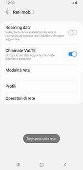 Samsung Galaxy S9 - Android Pie - Rete - Selezione manuale della rete - Fase 13