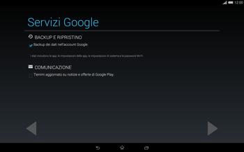 Sony Xperia Tablet Z2 LTE - Applicazioni - Configurazione del negozio applicazioni - Fase 15