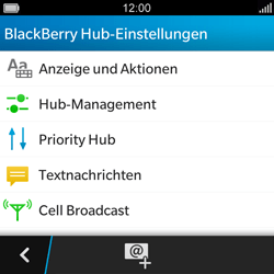 BlackBerry Q5 - SMS - Manuelle Konfiguration - 5 / 11