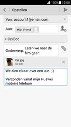 Huawei Ascend G630 - e-mail - hoe te versturen - stap 14