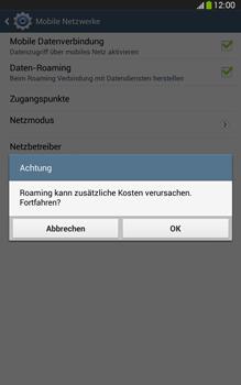 Samsung T315 Galaxy Tab 3 8-0 LTE - Ausland - Im Ausland surfen – Datenroaming - Schritt 9