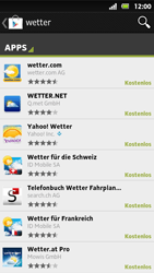 Sony Xperia Sola - Apps - Herunterladen - Schritt 12