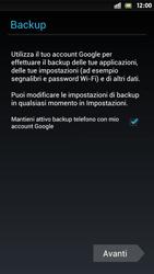 Sony Xperia S - Applicazioni - Configurazione del negozio applicazioni - Fase 14