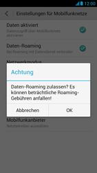 Huawei Ascend G526 - Ausland - Im Ausland surfen – Datenroaming - 8 / 11