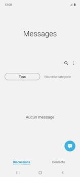 Samsung Galaxy A51 5G - Contact, Appels, SMS/MMS - Envoyer un SMS - Étape 4