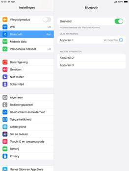 Apple iPad mini 4 - iPadOS 13 - Bluetooth - koppelen met ander apparaat - Stap 8