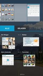 Huawei Ascend G526 - Startanleitung - Installieren von Widgets und Apps auf der Startseite - Schritt 7