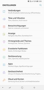 Samsung Galaxy A8 Plus (2018) - WLAN - Manuelle Konfiguration - Schritt 4