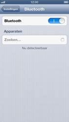 Apple iPhone 5 (iOS 6) - bluetooth - aanzetten - stap 5