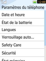 LG T385 - Sécuriser votre mobile - Personnaliser le code PIN de votre carte SIM - Étape 5