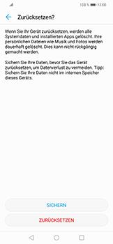Huawei Nova 3 - Fehlerbehebung - Handy zurücksetzen - 10 / 11