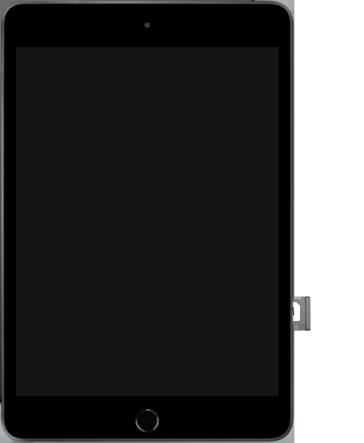 Apple ipad-mini-5-7-9-inch-2019-model-a2124-ipados-13 - Instellingen aanpassen - SIM-Kaart plaatsen - Stap 5