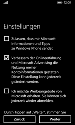 Nokia Lumia 635 - Apps - Einrichten des App Stores - Schritt 20