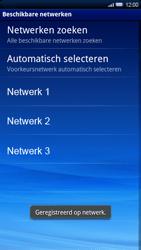 Sony Ericsson Xperia X10 - netwerk en bereik - gebruik in binnen- en buitenland - stap 10