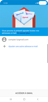 Samsung Galaxy S10 Plus - E-mail - 032a. Email wizard - Gmail - Étape 13