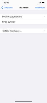 Apple iPhone 11 Pro Max - iOS 14 - Startanleitung - So fügen Sie eine Tastatursprache hinzu - Schritt 6