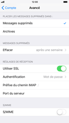 Apple iPhone 6s - iOS 11 - E-mail - Configuration manuelle - Étape 25