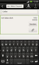 HTC One SV - MMS - Erstellen und senden - 1 / 1