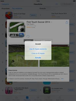Apple iPad mini iOS 7 - Applicazioni - Configurazione del negozio applicazioni - Fase 7