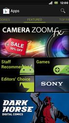 Sony Xperia U - Applications - Installing applications - Step 4