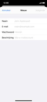 Apple iphone-11-pro-model-a2215 - E-mail - Account instellen (IMAP met SMTP-verificatie) - Stap 7