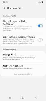 Samsung Galaxy A20e - wifi - schakel Wi-Fi Assistentie uit - stap 10