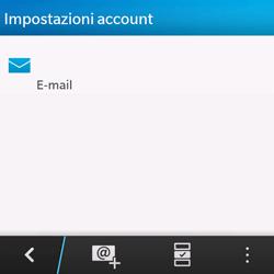BlackBerry Q10 - E-mail - Configurazione manuale - Fase 17