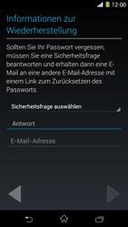 Sony Xperia Z1 - Apps - Konto anlegen und einrichten - Schritt 12