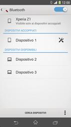 Sony Xperia Z1 - Bluetooth - Collegamento dei dispositivi - Fase 8