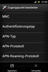 Sony Xperia Miro - Internet - Manuelle Konfiguration - 16 / 26