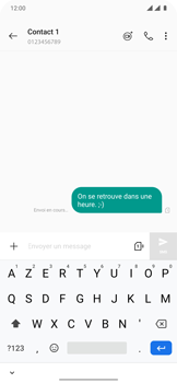 OnePlus 7T Pro - Contact, Appels, SMS/MMS - Envoyer un SMS - Étape 9