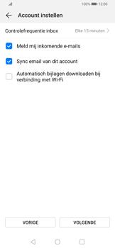 Huawei P Smart Z - E-mail - e-mail instellen (yahoo) - Stap 7