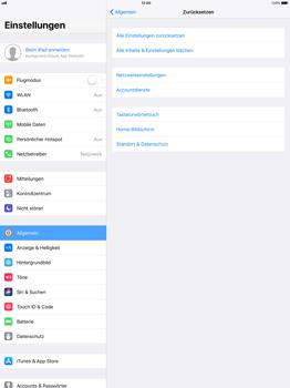 Apple ipad-pro-12-9-inch-mit-ios-11 - Fehlerbehebung - Handy zurücksetzen - Schritt 6