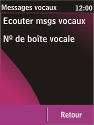 Nokia C2-03 - Messagerie vocale - configuration manuelle - Étape 8