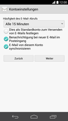 Huawei Ascend P6 LTE - E-Mail - Konto einrichten - Schritt 20