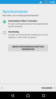 Sony E6853 Xperia Z5 Premium - E-mail - handmatig instellen - Stap 19