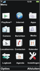 Sony Ericsson U5i Vivaz - E-mail - handmatig instellen - Stap 3