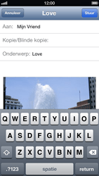 Apple iPhone 5 - E-mail - E-mails verzenden - Stap 9