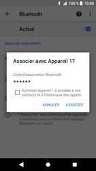 Sony Xperia XZ1 Compact - Bluetooth - Jumelage d
