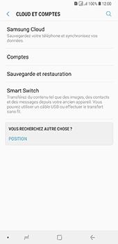 Samsung Galaxy A7 (2018) - Données - créer une sauvegarde avec votre compte - Étape 5