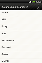 HTC Desire C - Internet - Apn-Einstellungen - 1 / 1
